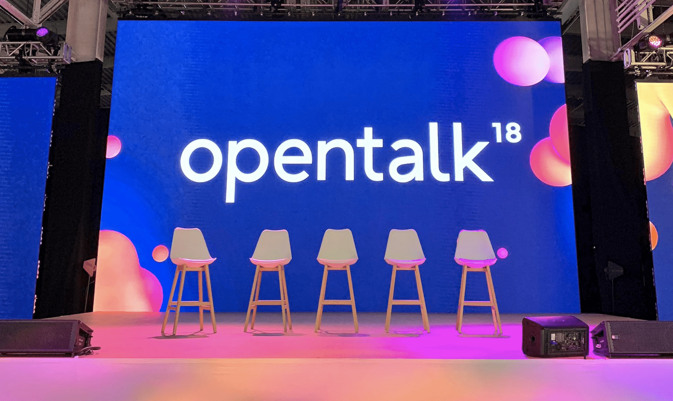 Opentalk18 Wraps up – Takeaways for Success in Disruptive Times