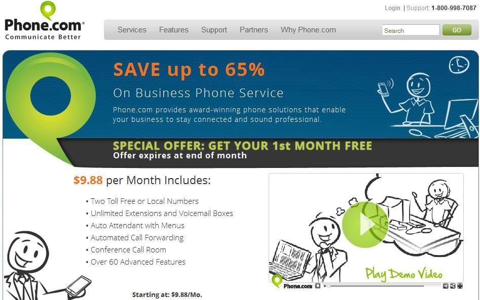 Phone.com Draws On Small Businesses