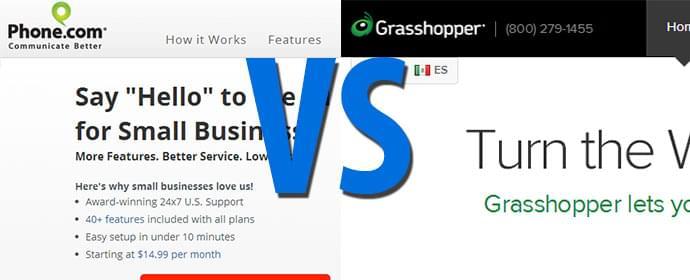 Grasshopper vs Phone.com Comparison