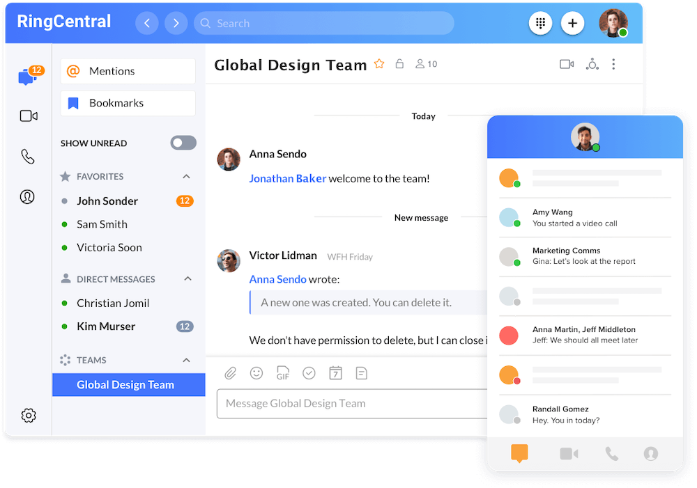 RingCentral Chat