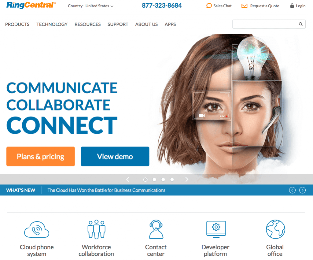 RingCentral: Communicate Collaborate Connect