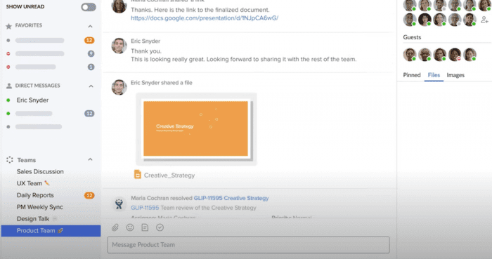 RingCentral Messaging