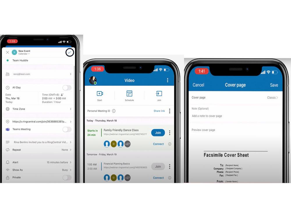 RingCentral Mobile App