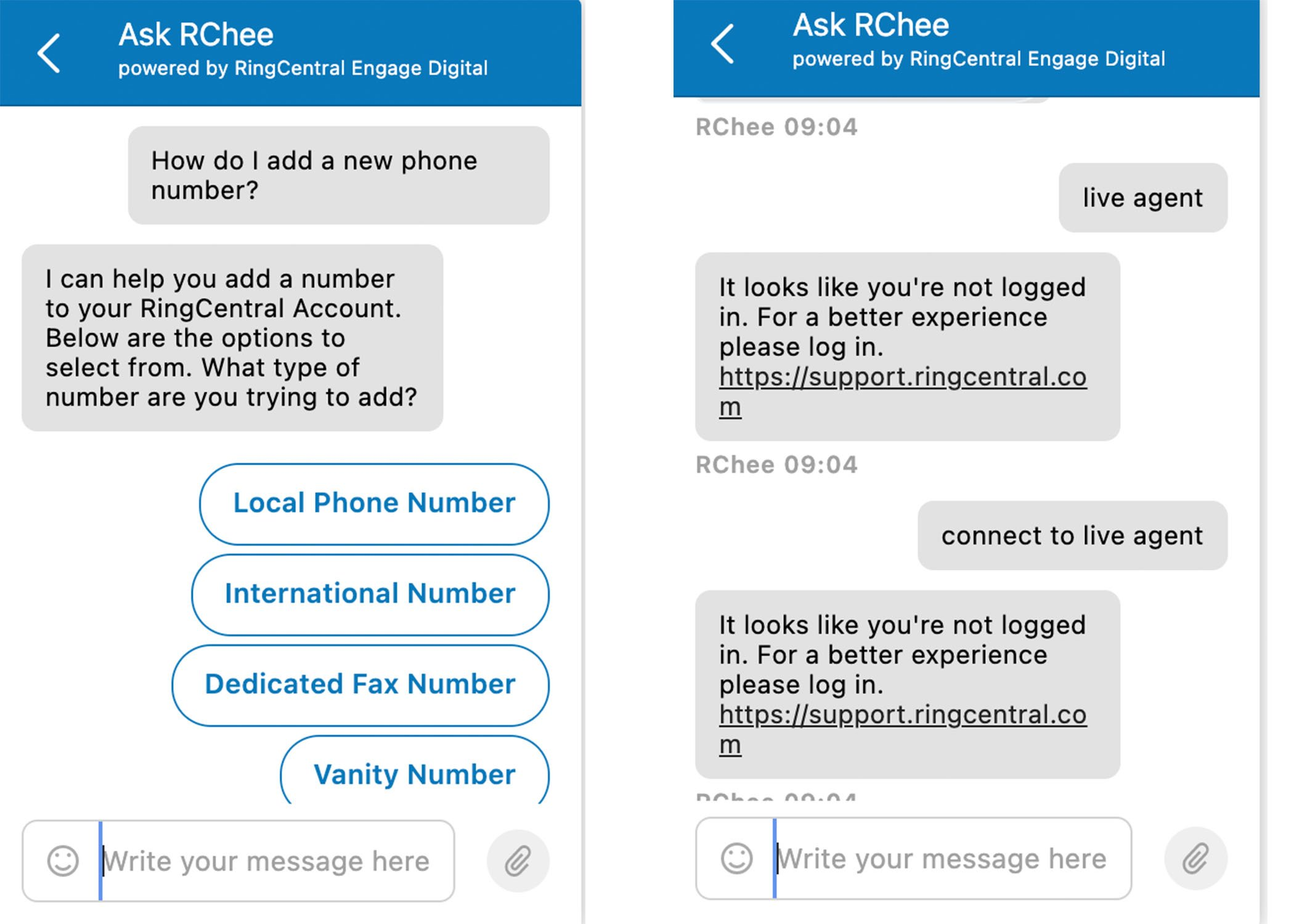 RingCentral Support