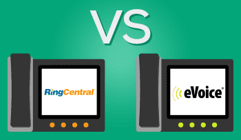 eVoice vs RingCentral - Comparing Business VoIP