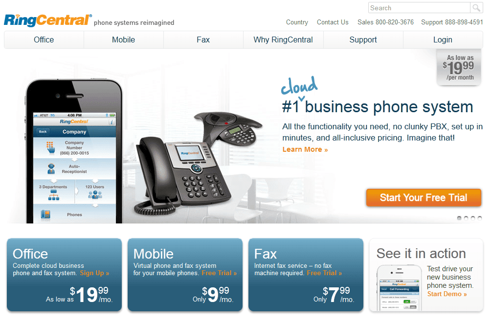 RingCentral Website Overview: Let's Get VoIPed Up!