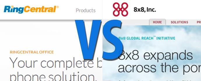 RingCentral vs 8×8, Inc. Comparison