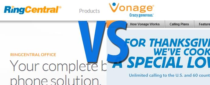 Vonage vs RingCentral For Business Use