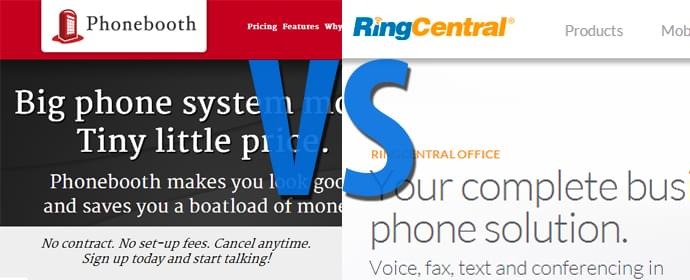 Phonebooth vs RingCentral Comparison