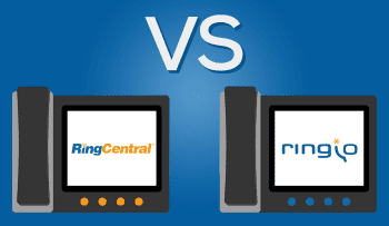 Ringio vs Ringcentral - Hosted PBX Comparison