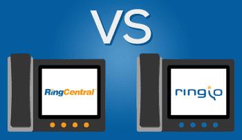 Ringio vs Ringcentral - Hosted PBX Comparison