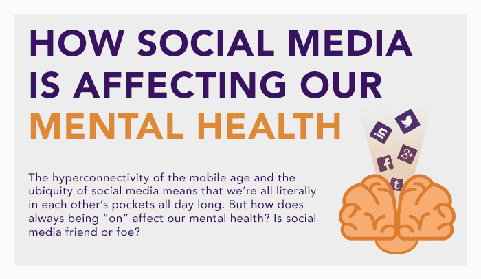the possible effects of social media on mental health Facebook has acknowledged that too much social media can be damaging to people's mental health the company is coming under increasing scrutiny about its impact on.