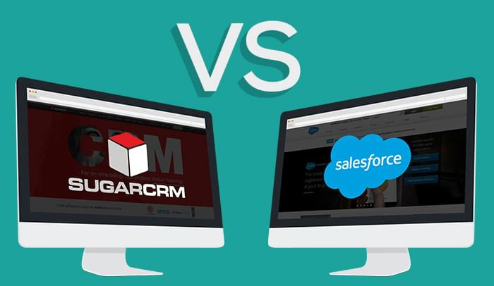 SugarCRM vs Salesforce CRM Comparison For Large Business