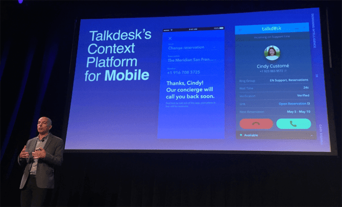 Talkdesk Slide