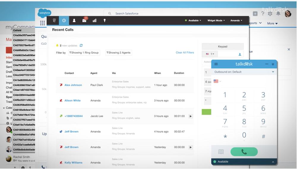 Talkdesk Salesforce Integration