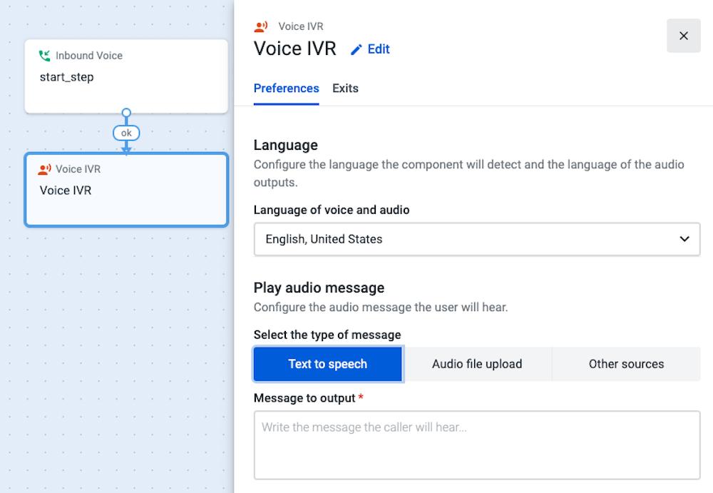 Talkdesk Voice IVR