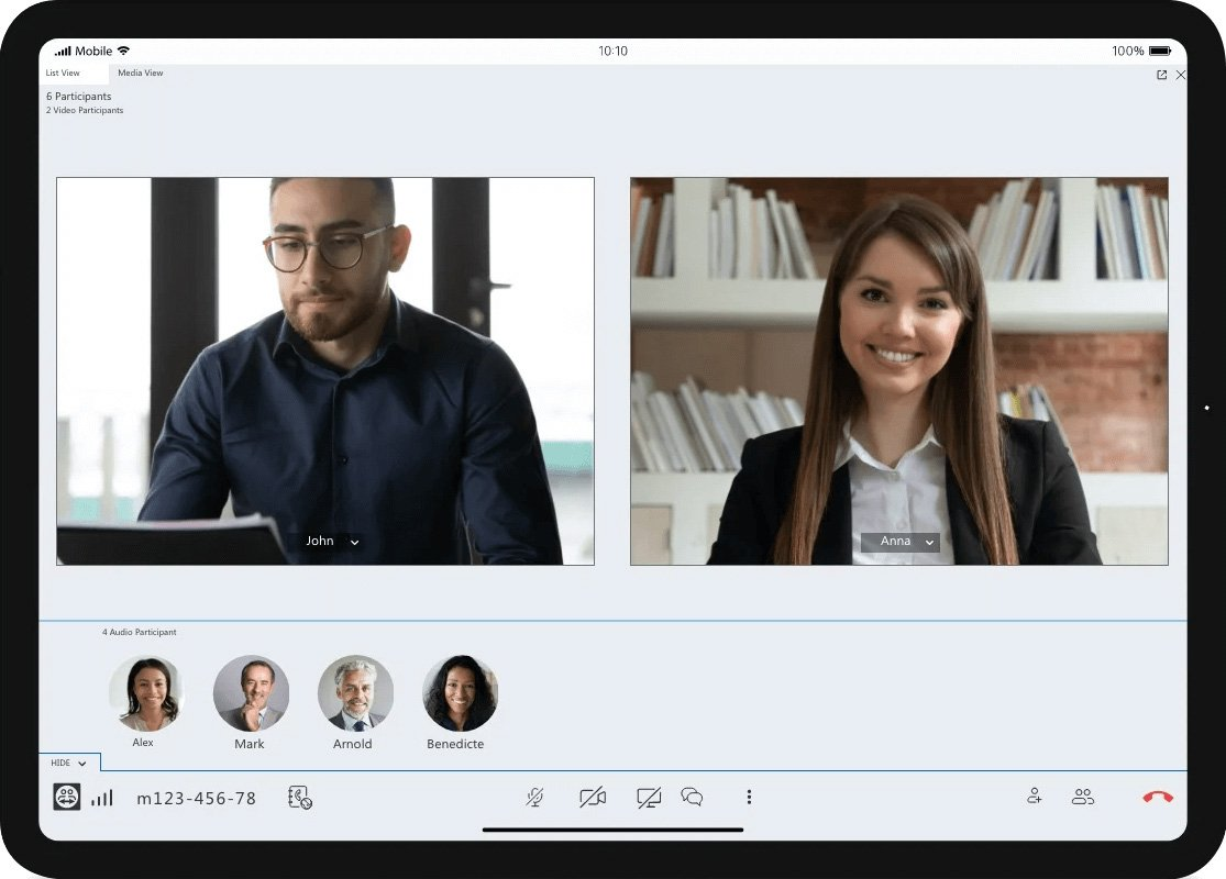 TeamViewer video conferencing