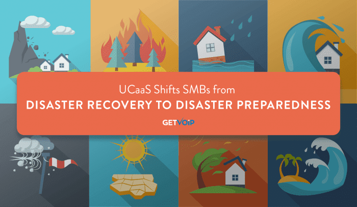 UCaaS Shifts SMBs from Disaster Recovery to Disaster Preparedness