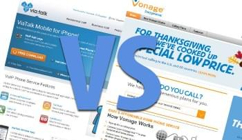 ViaTalk vs Vonage Comparison