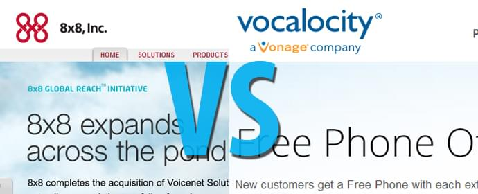 Vocalocity vs 8×8 – Head To Head Comparison