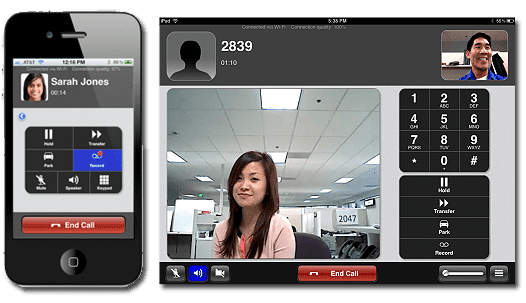 8x8, Inc. 's Virtual Office Mobile Saw Updates and Upgrades Over the Course of the Year, Making It Available on the Tablet, with Builds for Both iOS and Android. The Mobile Client leverages Wi-Fi/ 3G/4G/LTE.
