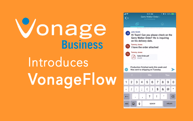 Vonage Introduces Collaboration With VonageFlow