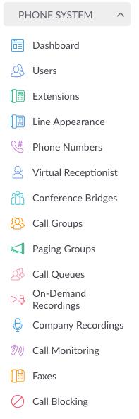 Managing Phone System
