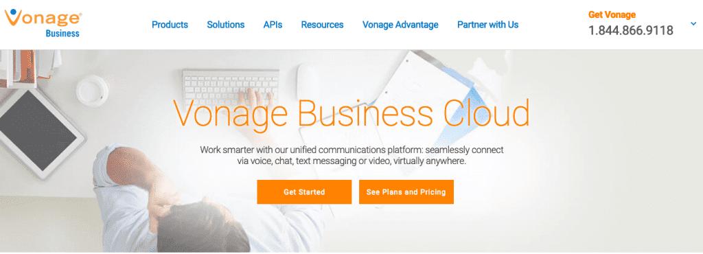 vonage business phone plans