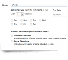 Recurring Events Tool