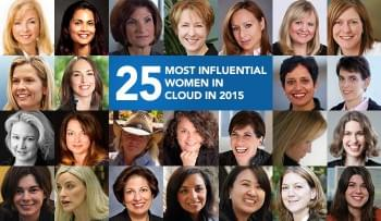 The 25 Most Influential Women in Cloud in 2015