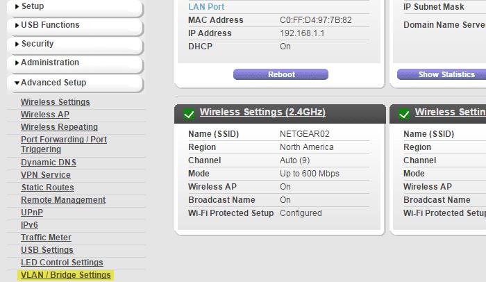 VLAN_VoIP_settings